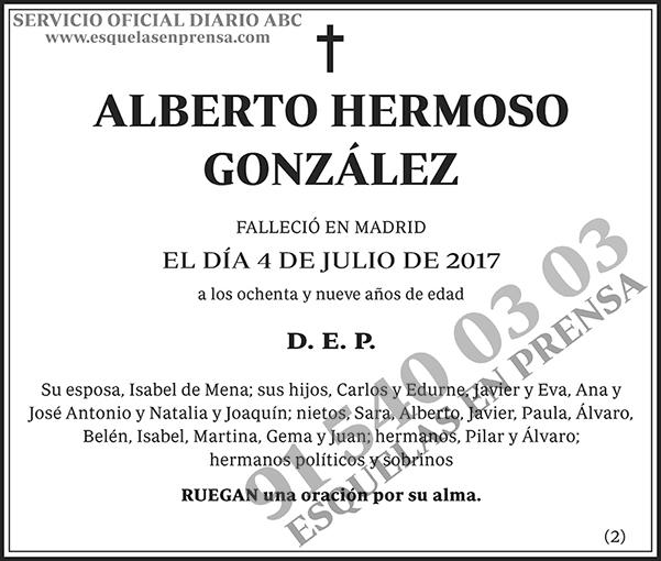 Alberto Hermoso González